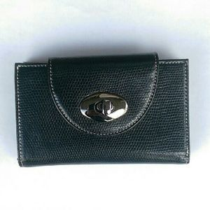 Mexx Handbags - Black Mexx leather wallet