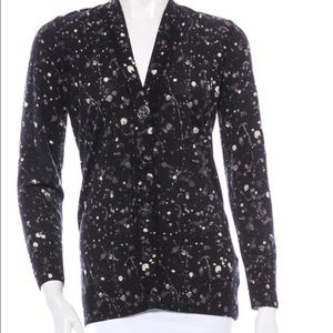 Tory burch splatter paint cardigan and two more