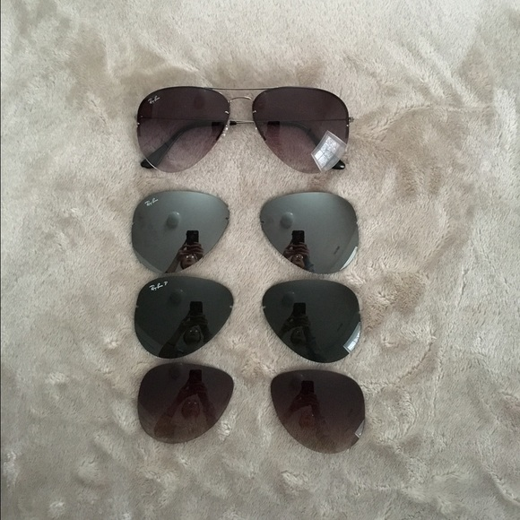 68e3076c3f Ray Ban Flip Out Extra Lenses