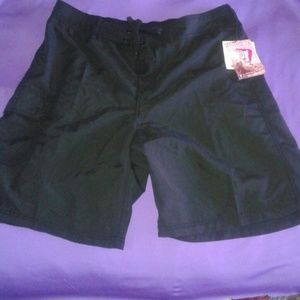 Kanu Surf Pants - Black Marina Shorts by Kanu Surf Sz 1X