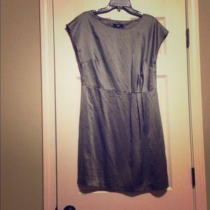 Silver date night dress