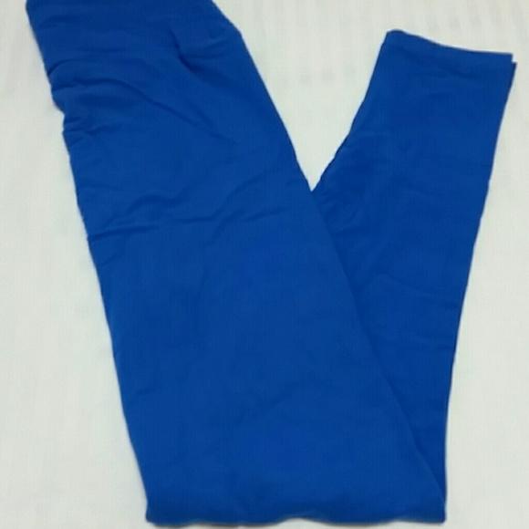 89391918c53b31 LuLaRoe Pants | Bnwt Leggings Blue Tc | Poshmark