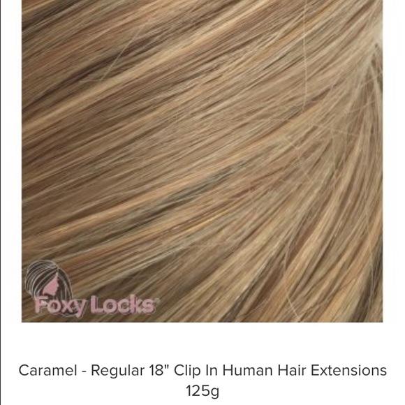 Foxy Locks Accessories 18 Remy Human Hair Extensions Poshmark