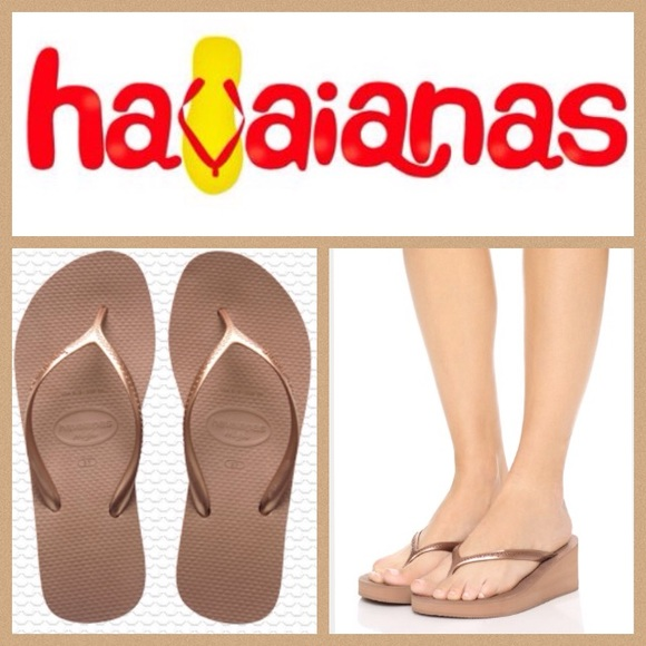 f73c3b71c049 Havaianas Shoes - NEW! Havaianas High fashion wedge flip-flop