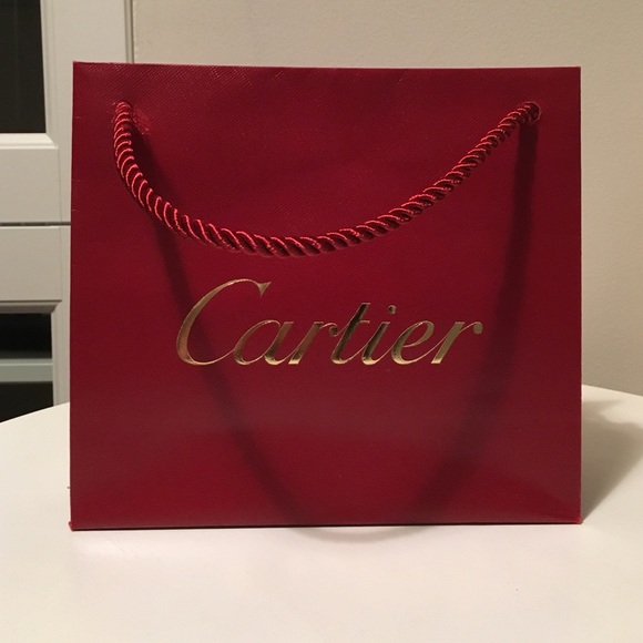 Cartier - 💯Authentic Cartier Shopping bag from 💎lulu's closet on ...