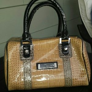 crocodile hermes birkin bag - 75% off Guess Handbags - Guess snake print purse from ...