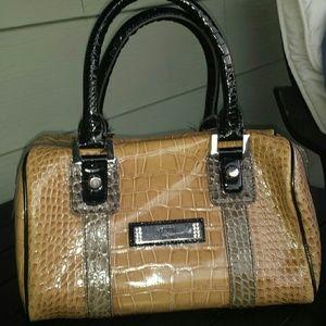 crocodile hermes birkin bag - 75% off Guess Handbags - Guess snake print purse from ...