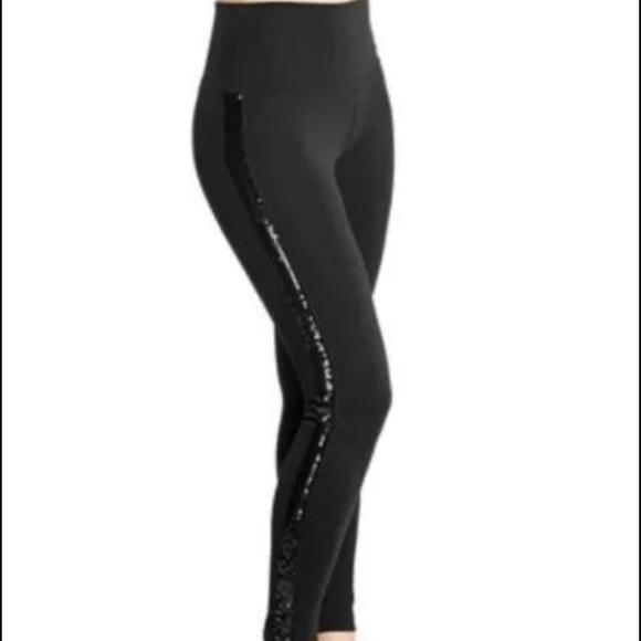 39cb1d5eec4 New Lyssé Sequin Stripe Control Top Ponte legging