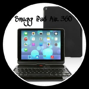 Snugg iPad Air with Bluetooth connection