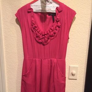Bcbg max azria pink dress in size 4