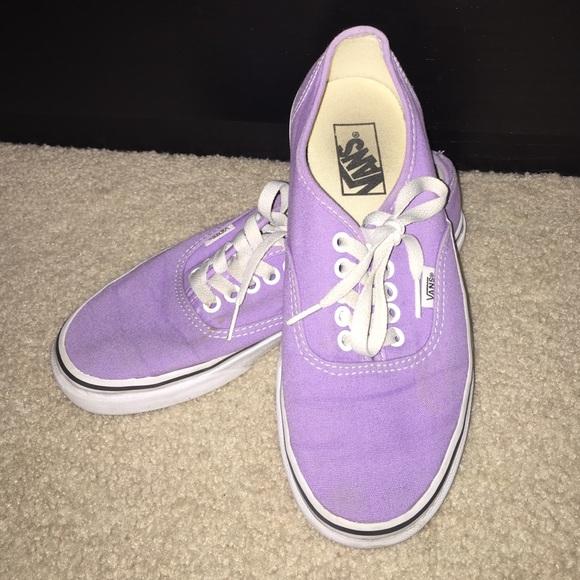 6463aa5878 Lavender Classic Women s Vans Shoes. M 56cfb9b39818299fc50051b7