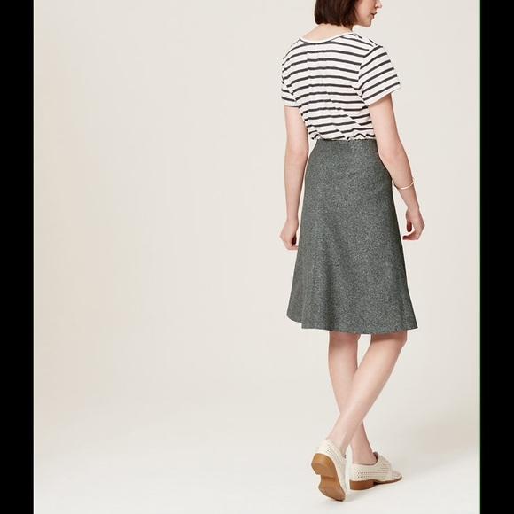 57 loft dresses skirts nwt loft gray cotton