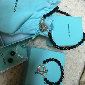 Tiffany & Co onyx set