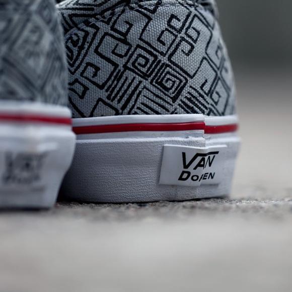 Van Doren Era Maze Vans Black White Aztec. M 56cfcc2b4e95a3fcf9008f55 77fbdaba23f5