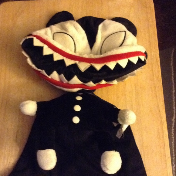 nightmare before christmas hat scary teddy