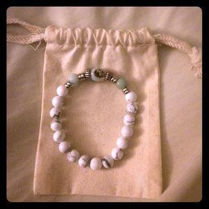 Jewelry - Amazonite and Howlite Goddess Bracelet