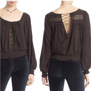 NWOT Free People Peasant Top