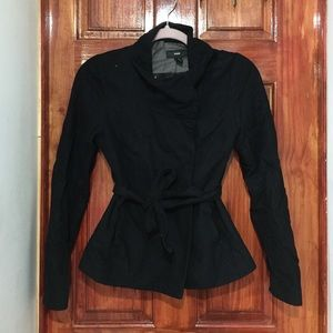 Black H&M coat size 4