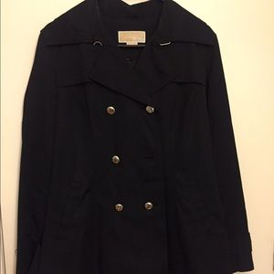 Black Michael Kors Trench Coat