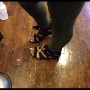 Sam & Libby Sandals with wedge