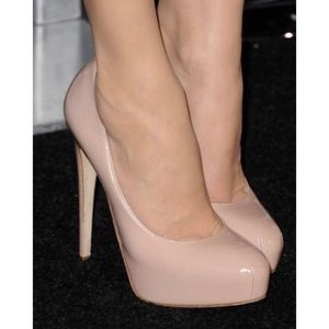 Brian Atwood Shoes - BRIAN ATWOOD Nude Maniac Pumps