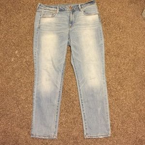 American eagle outfitters super skinny jeans sz 14