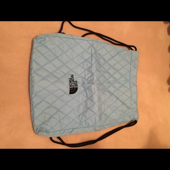 ce5536407 North Face Drawstring Bag