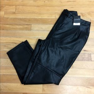 NWT's TopShop faux leather pants