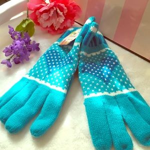 Accessories - 👑Super cute winter extra warm gloves👑Blue