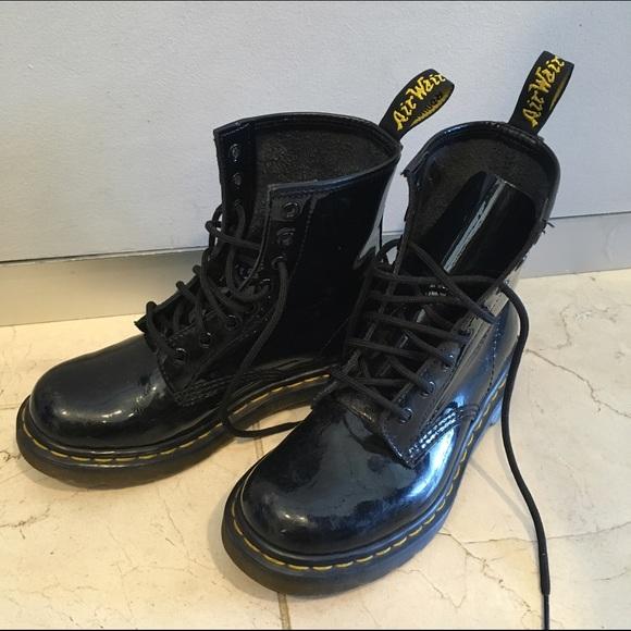 1b05d1ac73cc Dr. Martens Shoes - Dr Martens Modern Classics 1460 Patent 8-Eye Boots