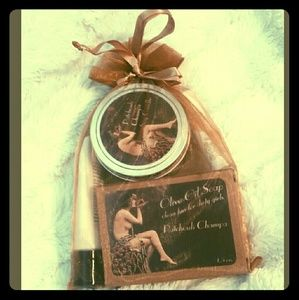 Patchouli Champa gift set by Bella Des Natural