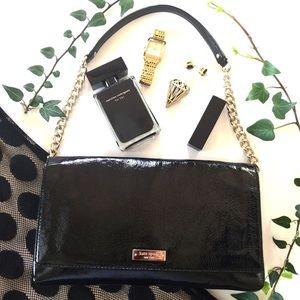 Kate Spade Meribel Black Patent Leather ♠️♠️♠️