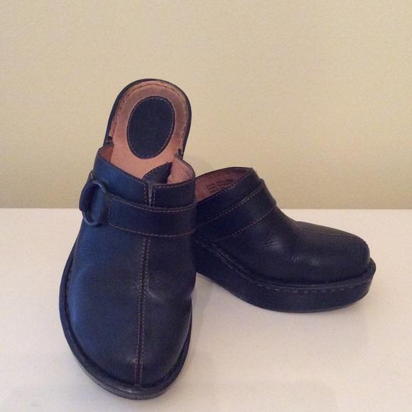 58 born shoes born platform clog size 8 from crispy