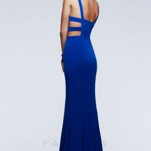 a40c638890ae Faviana Dresses - Faviana 7541 royal blue dress