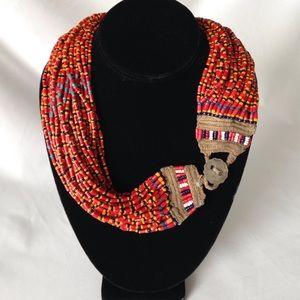 Antique tribal necklace