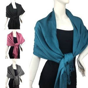 "Lil+Lo Accessories - Scarf Wrap ⭐️ Pashmina Style Soft & Cozy 24""x70"""