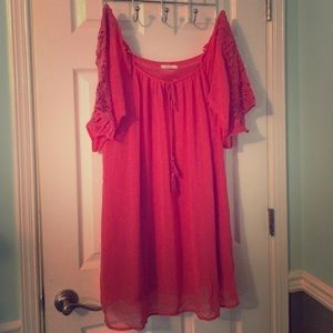 Entro coral colored dress