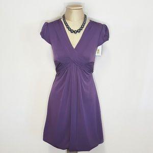 teeze Me Dresses & Skirts - teeze Me plum purple dress! NWT!