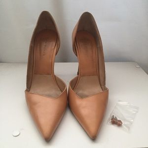 Zara Shoes - ZARA Leather D'Orsay Heels