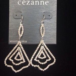 🆕LISTING Chandelier Faux Diamond Earrings