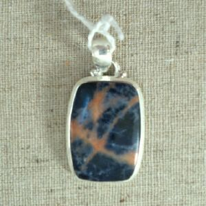 Jewelry - Sterling galaxy sodalite pendant 17.07 ct