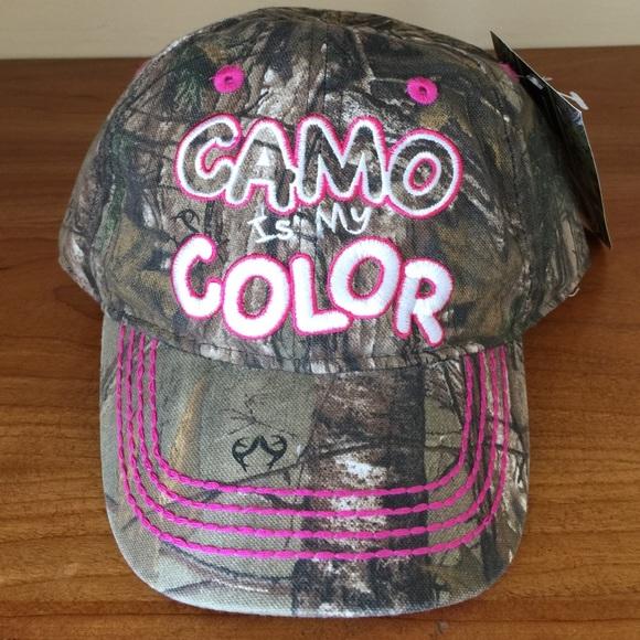 b2c85449594 NWT Toddler girls Realtree Camo Cap