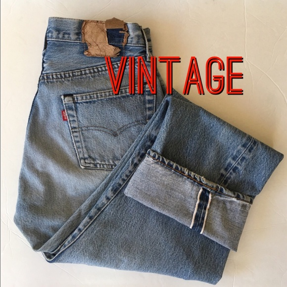 2658b05ce12 Levi s Denim - Vintage LEVI S 501 Selvedge Denim Jeans