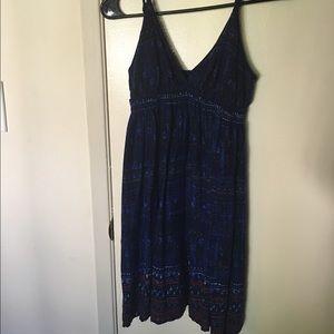 Urban Outfitters blue/purple print dress