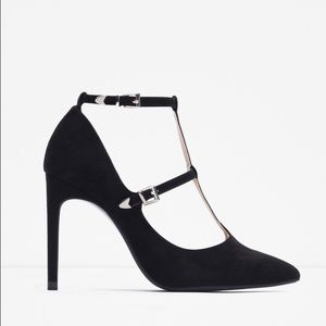 Zara Shoes - Zara Strap Heels