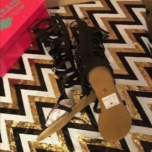 cbfdda568 Shoes - Mrs. Spartacus bling gladiator sandals