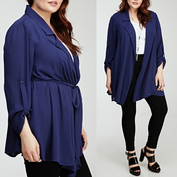 Forever 21 - ⚡️Sale! Gorgeous Chiffon Cardigan Plus Size 2X from ...