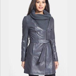Ellie Tahari leather jacket