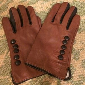 Brooklyn Industries leather gloves