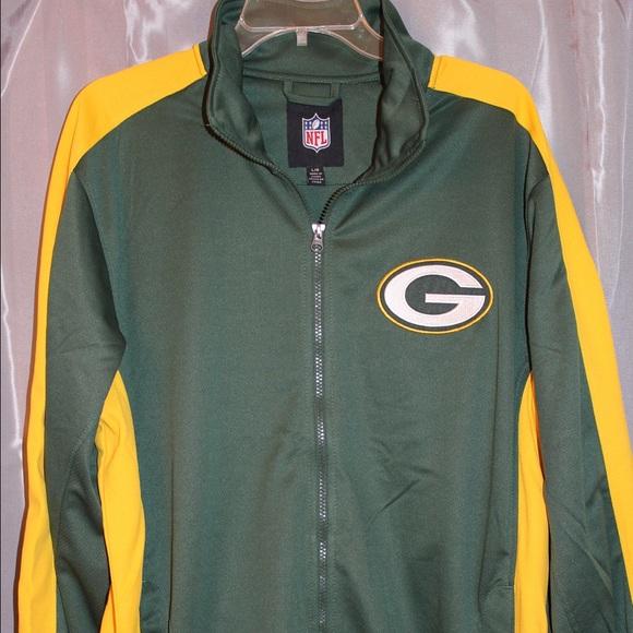 big sale 2105a 70ba5 NWOT NFL Green Bay Packers Track Jacket